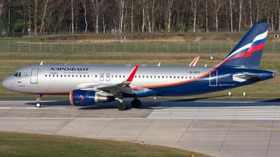 VQ-BPU - Airbus A320-214 - Aeroflot