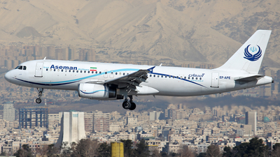 EP-APE - Airbus A320-231 - Iran Aseman Airlines