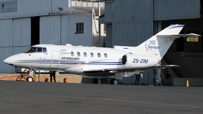 ZS-ZIM - Raytheon Hawker 800XP - Air Rescue Africa