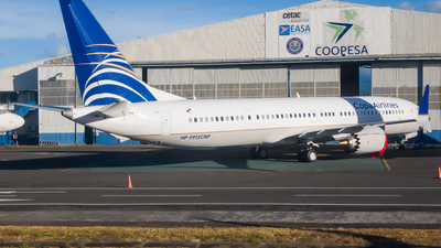 A picture of HP9912CMP - Boeing 737 MAX 9 - Copa Airlines - © Cristian Quijano