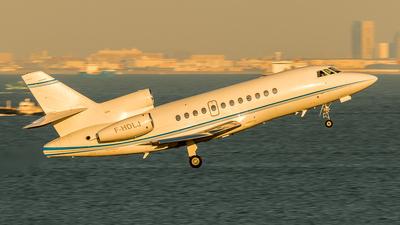 A picture of FHDLJ - Dassault Falcon 900EX - [165] - © AVIATOR-T.H.
