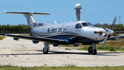ZS-JHG - Pilatus PC-12/47E - Private
