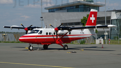 T-741 - De Havilland Canada DHC-6-300 Twin Otter - Switzerland - Federal Office of Topography