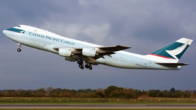 B-HVZ - Boeing 747-267F(SCD) - Cathay Pacific Cargo