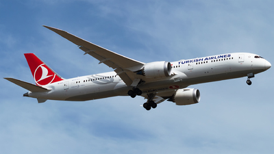 TC-LLJ - Boeing 787-9 Dreamliner - Turkish Airlines