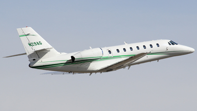 A picture of N29AG - Cessna 680 Citation Sovereign - [6800100] - © Mike MacKinnon