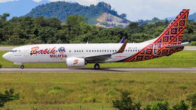 9M-LCM - Boeing 737-8GP - Batik Air Malaysia