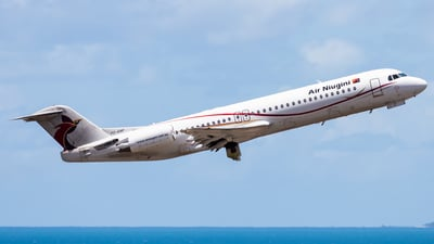 A picture of P2ANF - Fokker 100 - Air Niugini - © Brandon Giacomin