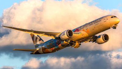 A picture of A6BLO - Boeing 7879 Dreamliner - Etihad Airways - © Kevin Cargo