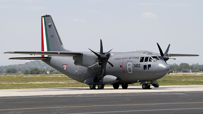 3402 - Alenia C-27J Spartan - Mexico - Air Force