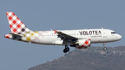 EC-NBD - Airbus A319-112 - Volotea