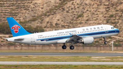 A picture of B6269 - Airbus A320214 - China Southern Airlines - © Yan Shuai