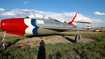 52-7019 - Republic F-84F Thunderstreak - United States - US Air Force (USAF)