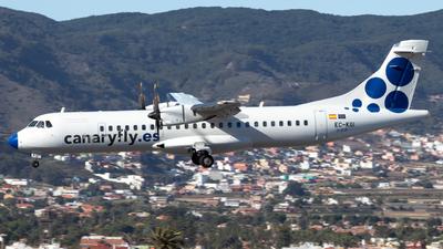 A picture of ECKGI - ATR 72500 - CanaryFly - © Martín Marrero Hdez
