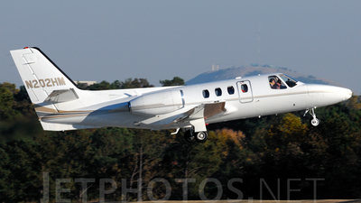 A picture of N202HM - Cessna 500 Citation I - [5000260] - © Agustin Anaya
