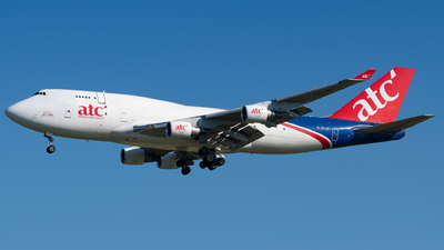 A picture of ERJAI - Boeing 747412(BDSF) - Aerotranscargo - © Gaetan De Meyer