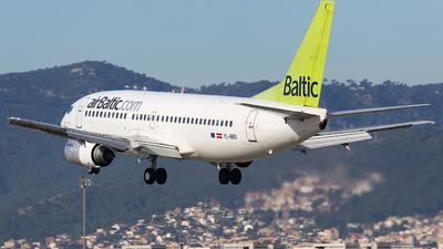 YL-BBS - Boeing 737-31S - Air Baltic
