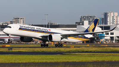 9V-SHR - Airbus A350-941 - Singapore Airlines