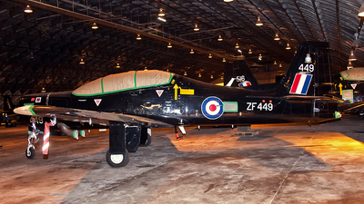 ZF449 - Short Tucano T.1 - United Kingdom - Royal Air Force (RAF)