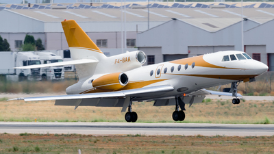 P4-BAA - Dassault Falcon 50EX - Sonnig International Private Jets
