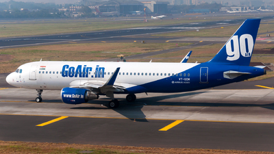 VT-GOM - Airbus A320-214 - Go Air