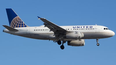 A picture of N808UA - Airbus A319131 - United Airlines - © Xiamen Air 849