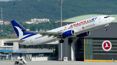A picture of TCJGV - Boeing 7378F2 - Turkish Airlines - © Alp AKBOSTANCI
