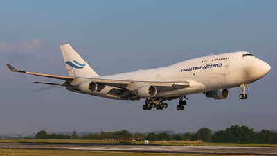 OO-ACE - Boeing 747-412(BCF) - Challenge Airlines