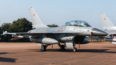 ET-198 - General Dynamics F-16BM Fighting Falcon - Denmark - Air Force