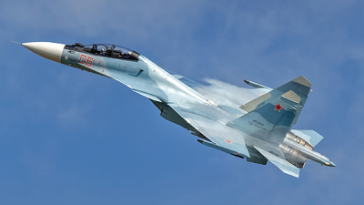 RF-93654 - Sukhoi Su-30SM - Russia - Air Force