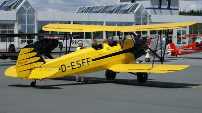 D-ESFF - Focke-Wulf Fw44J Stieglitz - Private
