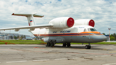 RF-31350 - Antonov An-74 - Russia - Ministry for Emergency Situations (MChS)