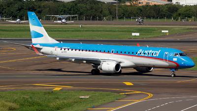 LV-FPT - Embraer 190-100IGW - Austral Líneas Aéreas