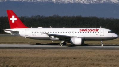 HB-IJA - Airbus A320-214 - Swissair