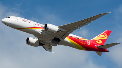 A picture of B2728 - Boeing 7878 Dreamliner - Hainan Airlines - © Marco Zanatta