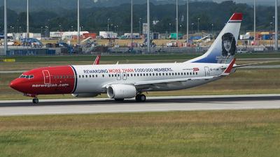 EI-FVM - Boeing 737-8JP - Norwegian