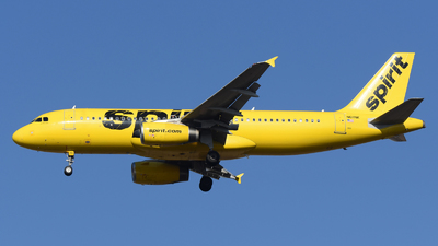 A picture of N611NK - Airbus A320232 - Spirit Airlines - © DJ Reed - OPShots Photo Team