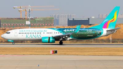 A picture of B6268 - Boeing 7378LP - Urumqi Airlines - © Jinshui Road