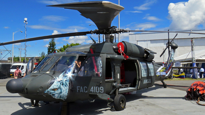 FAC4109 - Sikorsky UH-60A Blackhawk - Colombia - Air Force