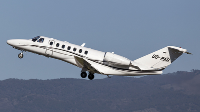 OO-PAR - Cessna 525 Citationjet CJ3 - Luxaviation