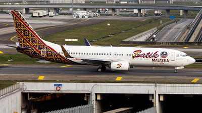 9M-LCL - Boeing 737-8GP - Batik Air Malaysia