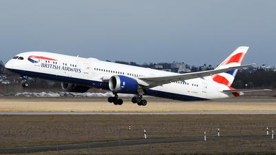 A picture of GZBKC - Boeing 7879 Dreamliner - British Airways - © Claus Seifert