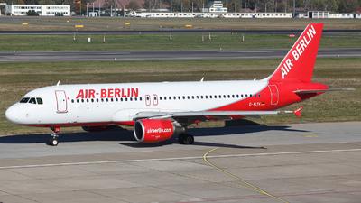 D-ALTK - Airbus A320-214 - Air Berlin