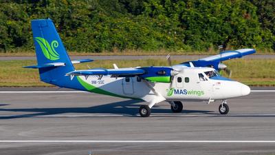 9M-SSE - Viking DHC-6-400 Twin Otter - MASWings