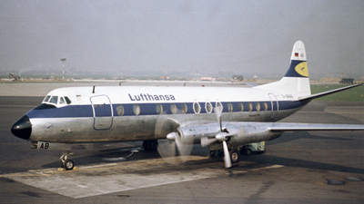 D-ANAB - Vickers Viscount 814 - Lufthansa