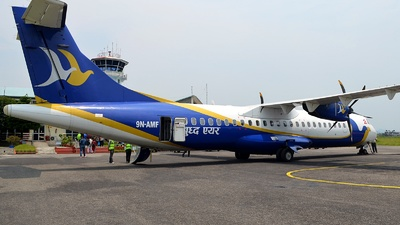 A picture of 9NAMF - ATR 72500 - Buddha Air - © Dipalay Dey