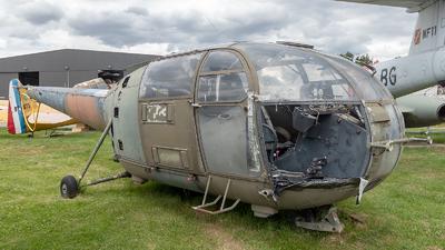1655 - Aérospatiale SA 316B Alouette III - France - Army