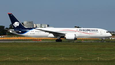 XA-ADC - Boeing 787-9 Dreamliner - Aeroméxico