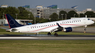 N165HQ - Embraer 190-100LR - Republic Airways