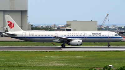 B-6885 - Airbus A321-232 - Air China